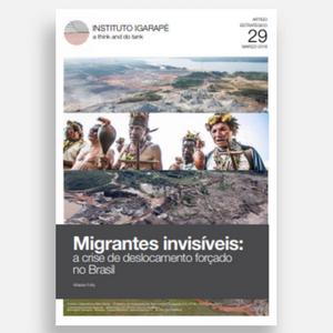 capa do estudo migrantes invisíveis