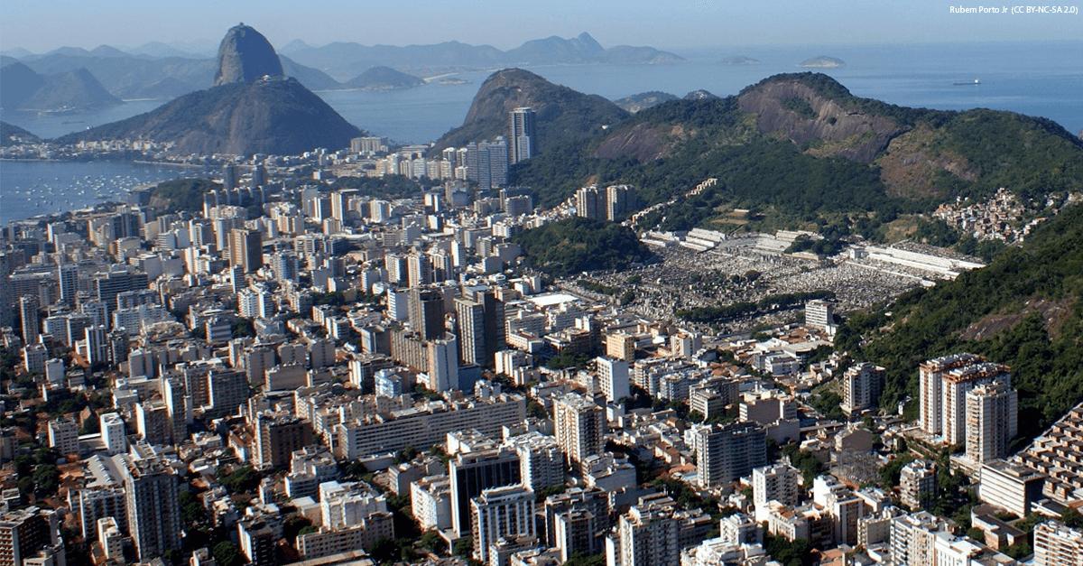 Vista panorâmica da cidade do Rio de Janeiro
