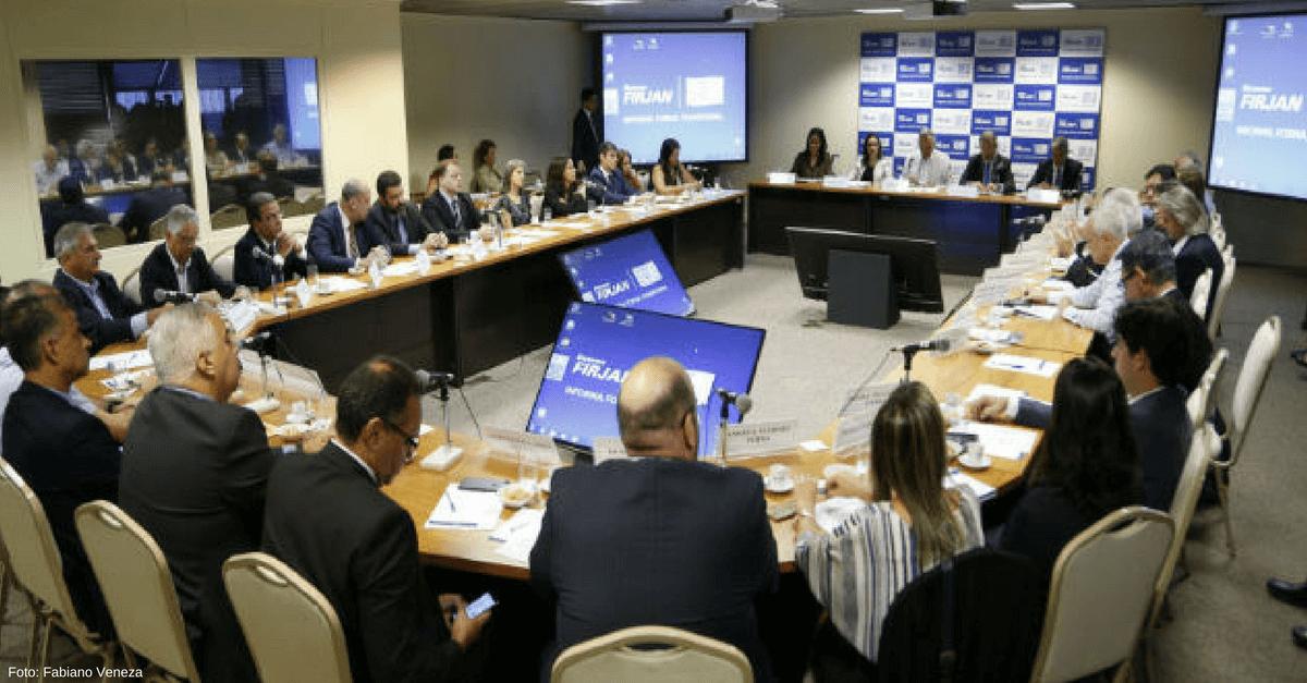 Ministro Raul Jungmann participa de reunião inaugural do Conselho FIRJAN de Segurança Pública