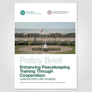Enhancing Peacekeeping Training Through Cooperation