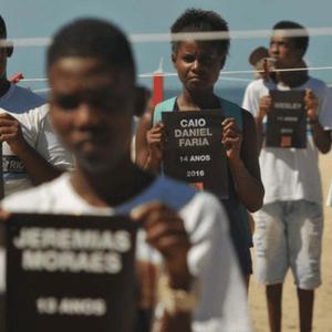 Cada jovem morto faz país perder R$ 550 mil
