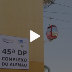 No Rio, delegacia no complexo de favelas do Alemão é desativada