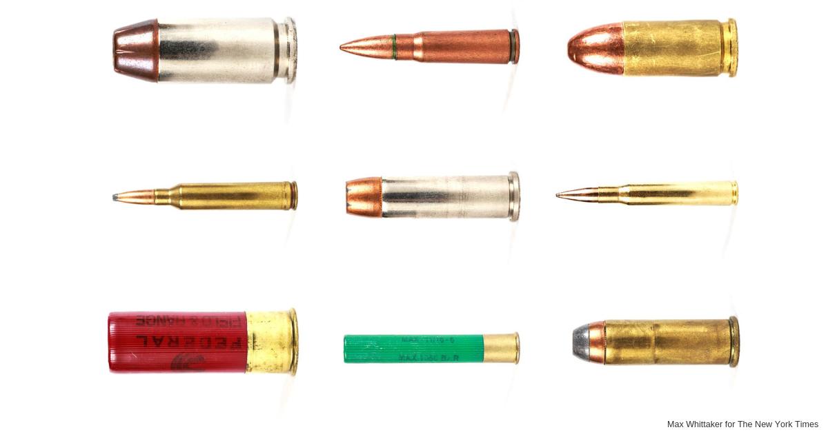 California Tries New Tack on Gun Violence: Ammunition Control