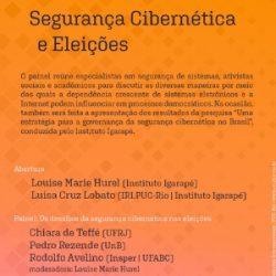 Aviso de Pauta Segurança Cibernética nas Eleições