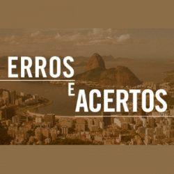 Gabarito dos erros e acertos dos candidatos ao governo do Rio de Janeiro