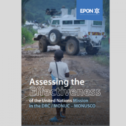 Assessing the effectiveness of the United Nations Mission in the DRC / MONUC – MONUSCO