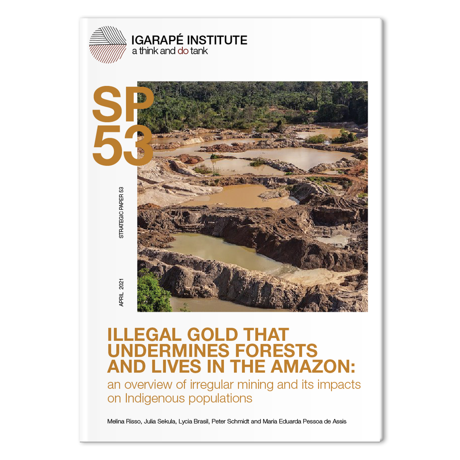 SP53 Illegal gold mining in the Amazon