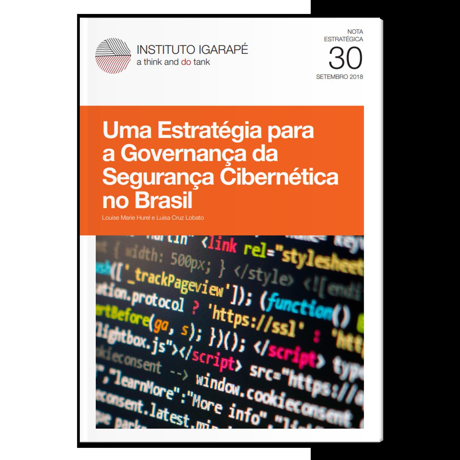 NE30 estratégia para a governança da segurança cibernética