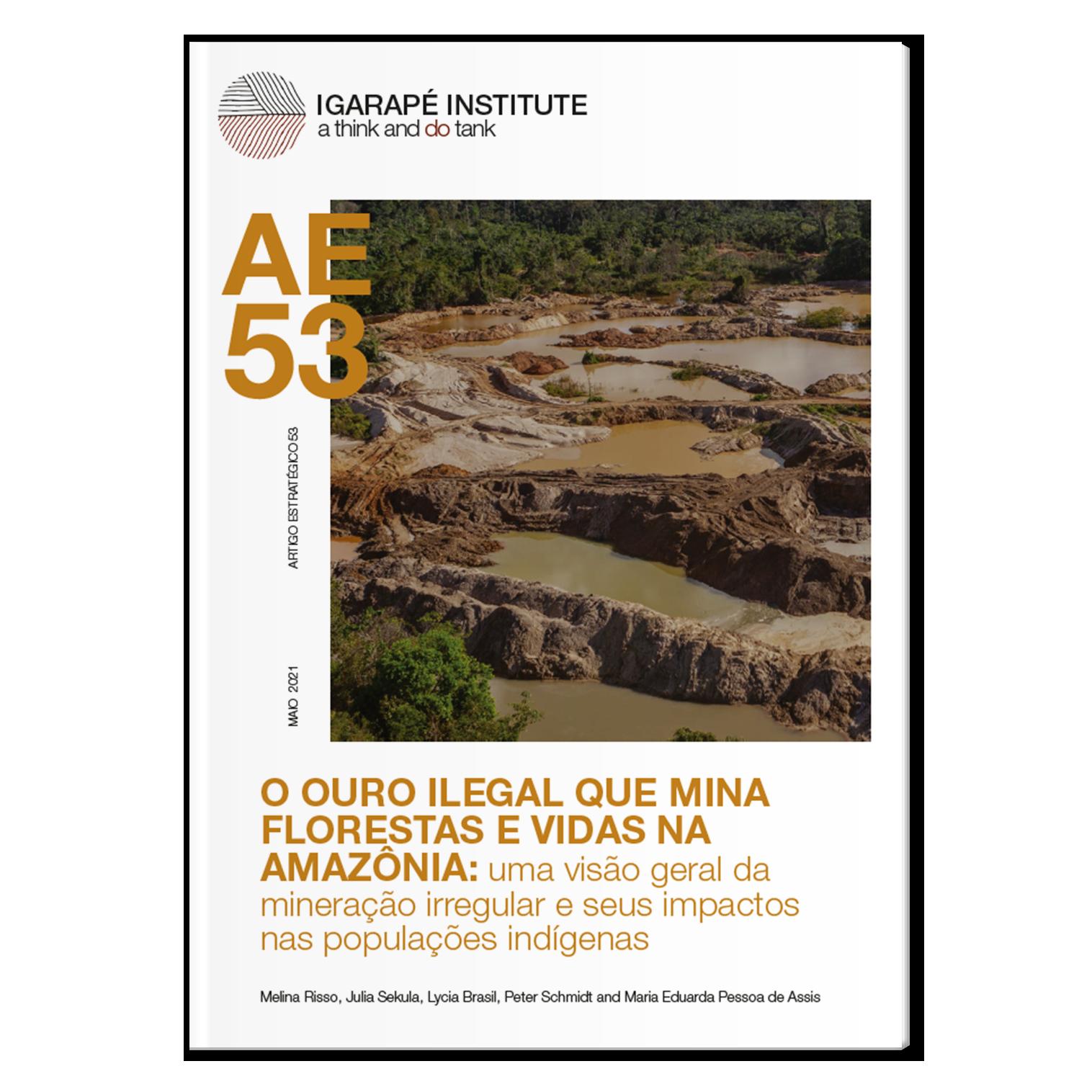 Artigo Estratégico 53 – O ouro ilegal que mina florestas e vidas na Amazônia