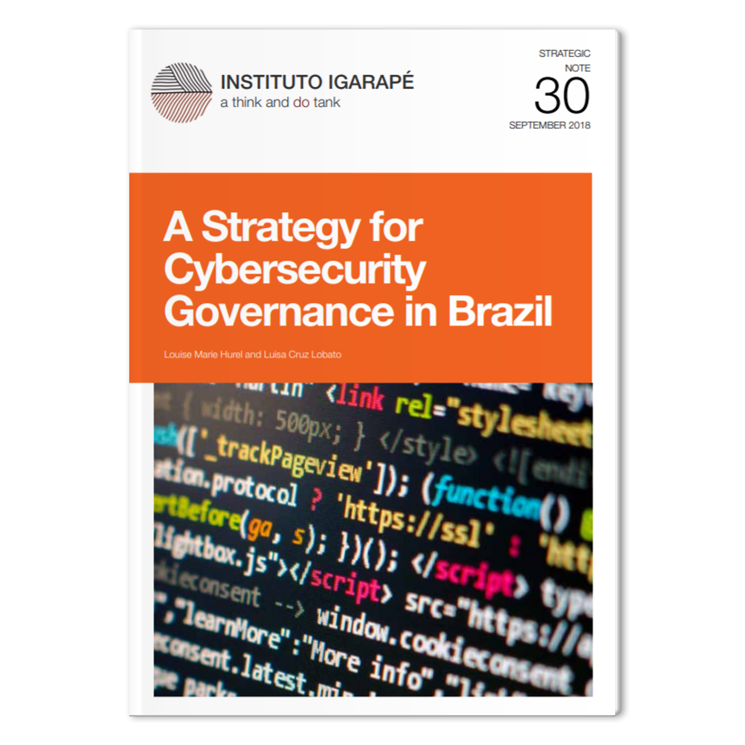 SN 30 A Strategy for Cybersecurity Governance in Brazil