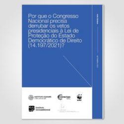 Por que o Congresso Nacional precisa derrubar os vetos presidenciais à Lei de Proteção do Estado Democrático de Direito (14.197/2021)?